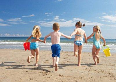 spiagge per bambini